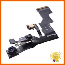 Telecamera anteriore online-Cavo di ricambio per sensore di luminosità anteriore di ricambio per fotocamere anteriori di ricambio per iPhone 5 5s 6 6S Plus