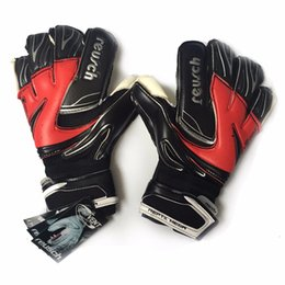 Wholesale Goalkeeper Glove Free Shipping - Free shipping 2016 New Reurch Thickened top goalkeeper Latex gloves Sports Reurch Soccer gloves football gloves