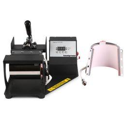 Wholesale Heat Press Machine Free Shipping - Free Shipping VEVOR Good Prices Two Mug Heat Press Machines Digital Coffee Cup Latte Mug Heat Press Transfer Sublimation Machine 110 220v