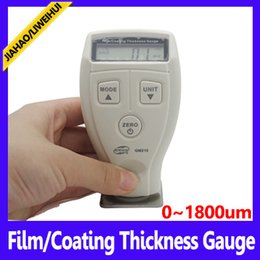 Wholesale Meter Measurer - Wholesale-Coating Thickness Gauge GM210Coating thickness Measurer meter Measuring range 0~1800um 2pcs lot free shipping
