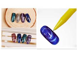 Wholesale 3d Nails For Sale - Hot Sale 10Pcs Nail Art Magnet Pen For DIY Magic 3D Tips Magnetic Cats Eyes Polish Gel Dotting Painting Manicure tools