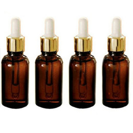 Wholesale Glass Reagent Bottles - 50PCS 10ML Amber Glass Reagent Eye Dropper Drop Aromatherapy Liquid Pipette Bottle