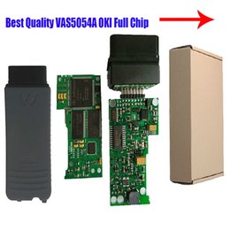 Wholesale-Preferential price V2.0 VAS 5054A V2.2.4 Bluetooth Scanner for VAS 5054 VW 5054 with OKI Chip от Поставщики оптовые чипы bluetooth