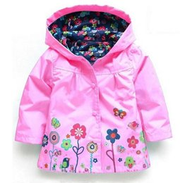 Wholesale Kids Rain Cover - 2016 new Winter Kids Outerwear Jacket Shirt Boys Girls Jackets Jackets Children Jacket Spring   Autumn Fashion Children cover Rain Clothes