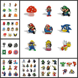 Wholesale Wholesale Magnets For Refrigerator - 1000pcs Marvel Super Hero South Park Cartoon Figure Magnetic Fridge Magnet PVC Refrigerator Magnet Souvenir for Home Decor Kids toy gift