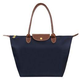 Wholesale Designer Bags Orange - New Fashion Women Designer Handbag High Quality Waterproof Nylon Bag casual Shoulder clutch tote Bolsas femininas long champagnes bags