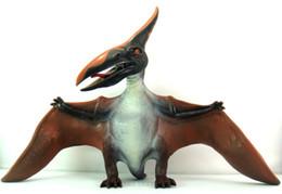 Ücretsiz kargo yeni dış ticaret Yazılım dinozor modelleri Dinozor Oyuncaklar Büyük pterosaurs doğum günü hediyesi Kanat Açıklığı 52 cm nereden prenses monokok figürler tedarikçiler