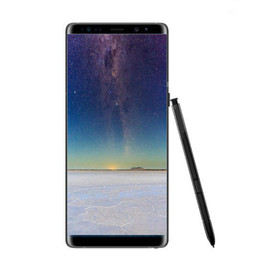 Wholesale Cheap 4g Sim Cards - Goophone note8 5.7inch cheap smartphone Note 8 MTK6572 Dual Core 512M 4GB Show 4G ram 64G rom show 4g lte unlocked cellphone