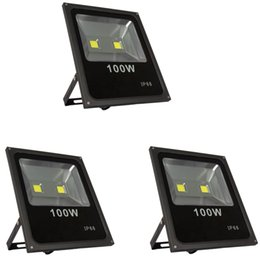 Wholesale Wall Washer Lights White - 2pcs Ultra Bright 100W Led Flood light 90lm w Outdoor lighting Waterproof IP65 Led Floodlight 100watts Led Spotlight Wall Washer