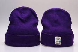 Wholesale Hip Hop Beanie For Women - Yjyb2b purple beanie hats for women men Hip Hop Diamond Supply Co knit Beanie wool knitting caps popping hats