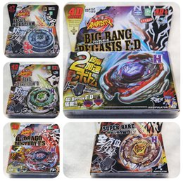 Wholesale Free Style System - 31 Style 432pcs lot Free DHL Beyblade Metal Fusion 4D System LOOSE Battle Top Masters Kits Metal Fury Pack FREE SHIPPING WHOLESALE
