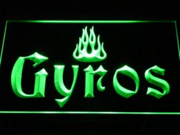 Wholesale Cheap Led Kits - a154 Gyros LED Neon Sign Cheap neon pink shoe laces High Quality sign kit China neon sign maker Suppliers