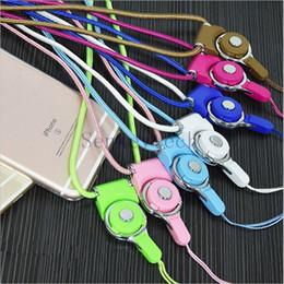 Abnehmbare Handy-Halsgurte aus Nylongewebe Lanyards Halskette hängenden Charme Sicherheit Abzeichen Kette für ID-Karten-Flash-Laufwerke MP3 von Fabrikanten