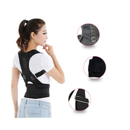 Wholesale Support Brace Belt - Magnetic Therapy Posture Corrector Brace Shoulder Back Support Belt for Men Women Braces & Supports Belt Shoulder Posture Free Shopping