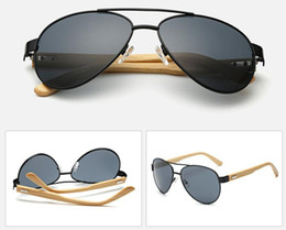 Wholesale Real Butterfly Acrylic - 2017 wholesale new grade promotion Wood Sunglasses Real Bamboo Wood Sunglases Men Women Polarized Driving excelllent Glasse free shipping