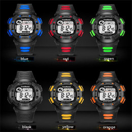 Wholesale Electronic Children Silicone Watch - Coolboss Children Kids Electronic Watches Luminous Outdoor Sports Wristwatch Unisex Waterproof Casual Watches Students Gift Watch