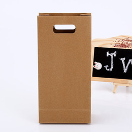 Wholesale Brown Paper Shopping Bags - DHL&SF_Express hotsales custom packaging bag brown roasted foodkraft paper bags for Factory & shopping packing factory price