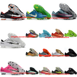 Wholesale Cheap Vapors - 2018 original football boots cr7 Low mercurial superfly soccer shoes Mercurial Vapor XI FG mens soccer cleats neymar boots chuteira cheap