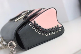 Wholesale Crochet Phone - 2017 new fashion hot sale high quality real leather women's handbag metal sequins decorative shoulder bag luxury bags