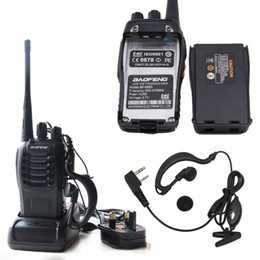 2019 lautsprecher md Baofeng BF-888S Taktische drahtlose tragbare Walkie Talkie 5W 400-470MHz Zwei-Wege-Radio Interphone Mobile Portable