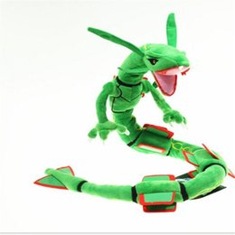 stuffed dragons Promo Codes - 32.7inch Length Poke Stuffed Animals Sky Strong Dragon Soft Stuffed Plush Toy Cute for Kid Christmas Toys Wholesale