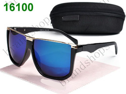 Wholesale Green Shades Color - luxury brands designer vintage Eyewear Italy men Color lenses Sunglasses women shades Fashion sun glasses with original Zipper case