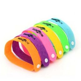 Wholesale Mosquito Insect Repellent - Insect Repellent Bracelet Sanded Fabric Adjustable Wrist Strap With Button Hole Design Wristband For Adults And Children 0 15rt B