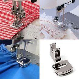 Wholesale Singer Wholesale - Ruffler Hem Presser Foot Feet For Sewing Machine Singer Janome Kenmore Juki Toyota Home Supplies DIY Tools