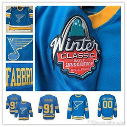 a3e37d687 Youth 2017 Winter Classic Premier St. Louis Blues Hockey Jerseys 91  Vladimir Tarasenko Hockey Custom any name and number Stitched Jersey