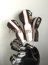 Wholesale Full Set Golf Clubs - Golf M2 complete set Woods Set Clubs Driver Fairway wood with graphite shaft golf clubs M2 irons full set