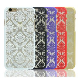 Wholesale For Iphone s Plus Cases PC Fasion Case With Flower Laser Painting Best Factory Bulk DHL Hot selling