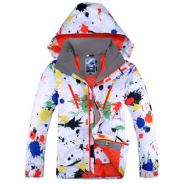 Wholesale Suit Thermal Male - Free Shipping Man Gsou Snow Band,windproof waterproof new style ski jacket,thicken thermal male clothing,snowboard skiing camping riding hot