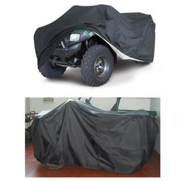 Wholesale Atv Cover Xxl - Universal Size L   XXL Quad Bike ATV Cover Parts Vehicle Tractor Motorcycle Car Covers Waterproof Resistant Dustproof Anti-UV