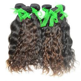 Wholesale Best Pure Water - Water Wave Unprocessed Soft Hair Thick Bundles Peruvian water wave 3 Bundles Deal Best Sale