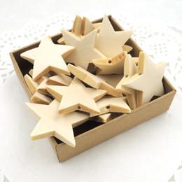 50pcs 40mm Cute Cartoon Wood Star Shape Unique Wooden Beads Home Deco Diy Pendant Kid Diy Finding Ea200 1