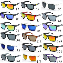 Wholesale Cheap Glasses Frame - Hot Sale Cheap sunglasses For Man sport cycling Brand sunglasses dazzle colour mirrors glasses