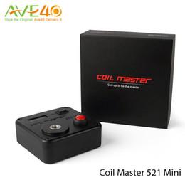 Argentina Original Coil Master 521 Tab Mini Coil Master Kit de bricolaje V3 Digital 521 Tab Intervalo de medición de 0.01 a 9.9ohm cheap tab 521 Suministro