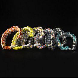 Wholesale Ego Bead - bracelet bead smoking pipe for tobacco sneak a toke e cigarette ego click n vape discreet sneak a toke vapor vaporizer