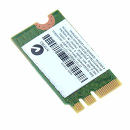 Wholesale Notebook Network Card - Wholesale- Laptop Network Cards WiFi QCNFA335 802.11BGN Bluetooth BT4.0 Wireless NGFF Card Universal Notebook Network Cards
