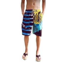 Wholesale Boardshorts Beach Swim Pants - Wholesale-Board Shorts Beach Pants Men Swimwar Surf Silver Boardshorts Male Swim Sport Clothes Sea Quick Dry Summer Brand 2016 New Arrival