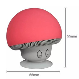 Wholesale Cheap Portable Speakers For Mp3 - cheap Wireless Bluetooth Mushroom Speaker Portable Phone Speaker Waterproof Silicon Suction Cup Holder for iPhone iPad Smart phone