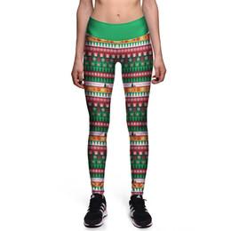 Wholesale Womens Plus Size Winter Leggings - ot Womens Autumn Winter Warm Leggings Fashion Christmas Printed High Elastic Skinny Leggings Slim Pencil Pants Plus Size
