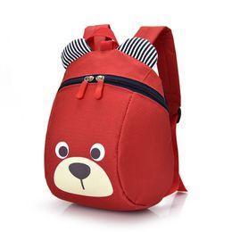 Wholesale blue toddler backpack - Aged 1-3 Toddler Backpack Anti-lost Kids Baby Bag Cute Animal Dog Children Backpacks Kindergarten Anti-lost School Bag