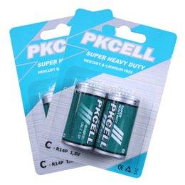 Wholesale Super Heavy Duty Batteries - 4 PCS (2card)1.5V R14P C Size Battery Super Heavy Duty Batteries batteries free shipping battery junction free shipping