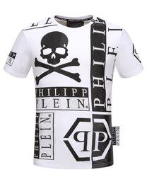 Wholesale Medusa Shirts - Hip Hop #12065 Fashion Gym Tops Tees Robin T Shirt Medusa Skulls Print Casual Slim Tide Men T-Shirts