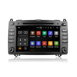 Wholesale Car Tv Screens Android - 8 Inch Android 5.1 Car DVD Radio Multimedia Player GPS With Wifi DAB CanBus For Mercedes-Benz W169 W245&B200 Sprinter Viano&Vito VW Craft