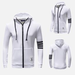 Wholesale Korean Zipper Jackets Hoodies - New Men's Autumn cardigan Korean men's Hoodie Jacket