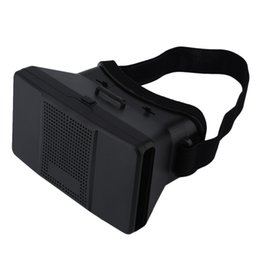 """Wholesale Tvs Glasses Virtual - VR1 Google Cardboard Virtual Reality VR 3D Glasses 3D Movies Games TV Glasses with Head Strap For 4-6.5"""" Android iOS Mobile Phones"""