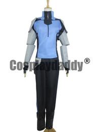 Wholesale Mercury S - RWBY Mercury Black Uniform Suit Cosplay Costume S002