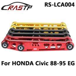 Wholesale eg control - RASTP-New Lower Control Arm For Racing Rear Lower Control Arm 92-95 For CIVIC 94-01 INTEGRA EG DC For Honda LS-LCA004
